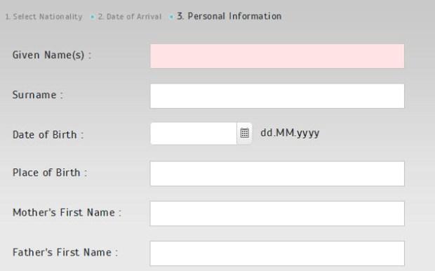 e-Visa to enter Bodrum Turkey Official website