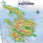 Kalymnos Map