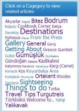 Bodrum Peninsula Travel Guide Category Cloud