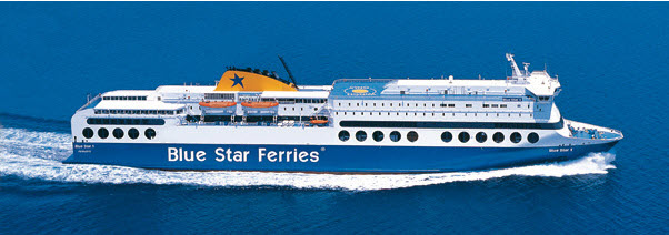 Blue Star Greek Island Ferries Schedule 2014