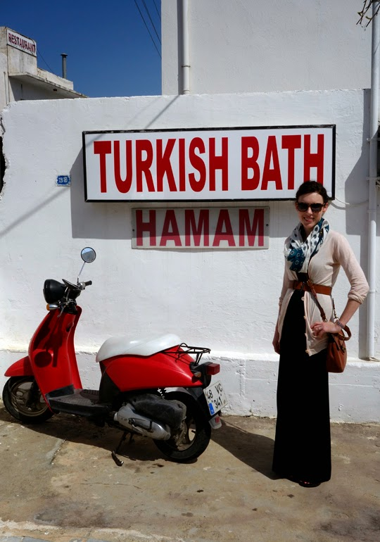 Emily's trip to Bodrum's oldest Hamam: Bardakçı Turkish Bath