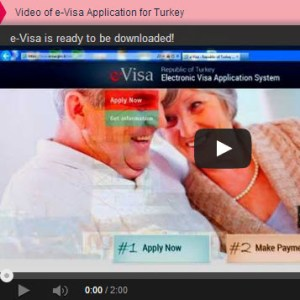 Video of Turkish evisa Application process