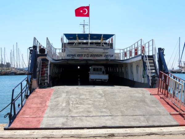 Datca Ferry Boat Bodrum Turkey