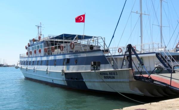 Datca Ferry Boat Bodrum Turkey
