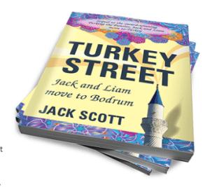Turkey Street Book Cover Jack Scott Bodrum Peninsula Travel Guide Blog by jay Artale