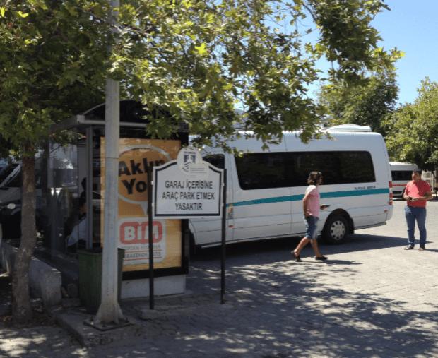 Yalikavak Bus Stop for Turkbuku to Turgutreis route