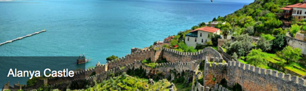 Postcards from the Ege Jack Scott Review Turkey Alanya Castle