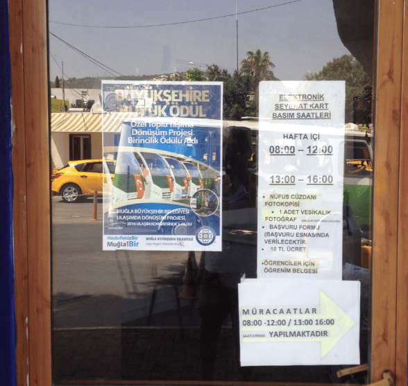 Bodrum City Bus and Kent Card Office