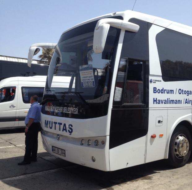 Bodrum Airport Bus Turkey