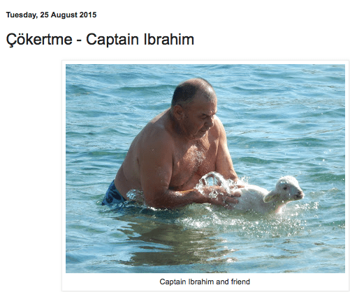 About Captain Ibrahim on Back to Bodrum Blog
