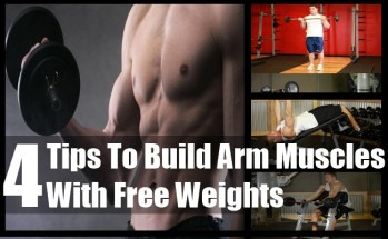 Arm Muscles With Free Weights