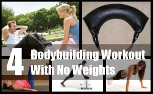Bodybuilding Workout With No Weights
