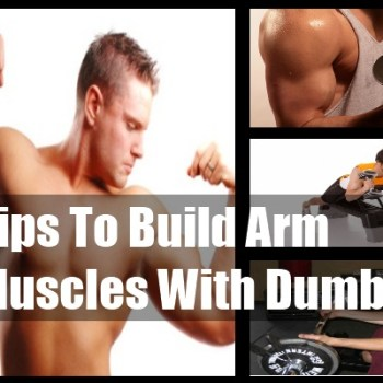 Build Arm Muscles With Dumbbells