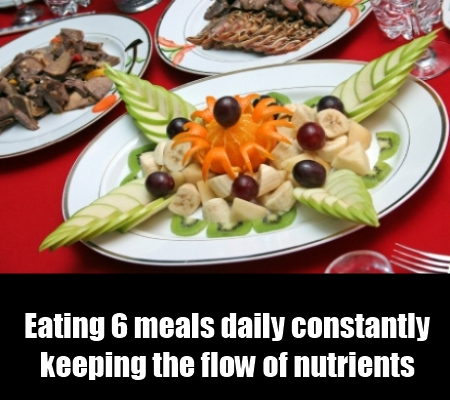 Eating 6 meals