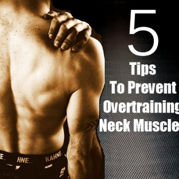 Overtraining Neck Muscles