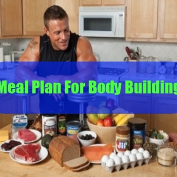 Meal Plan For Body Building