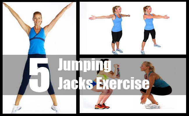 Jumping Jacks Exercise