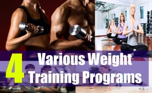 4 Various Weight Training Programs