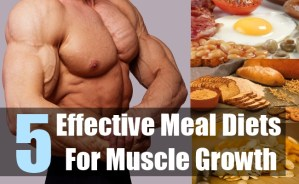 5 Effective Meal Diets For Muscle Growth