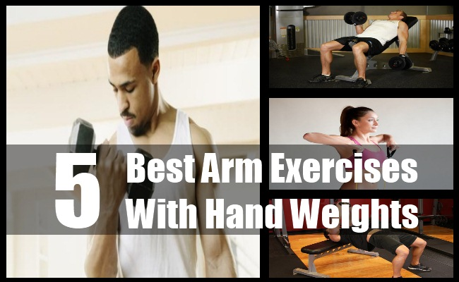 Arm Exercises With Hand Weights