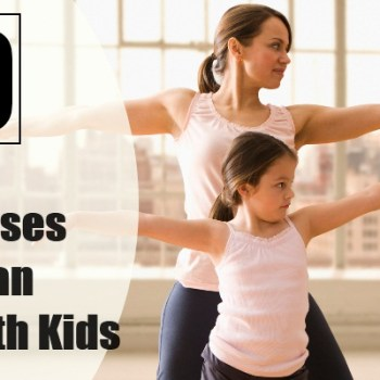 11 Easy Home Exercises You Can Do With Kids
