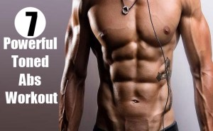 Powerful Toned Abs Workout
