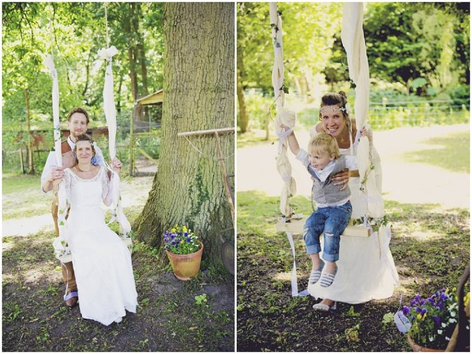 24 Rustic Garden Party Wedding By Candid & Frank Photography
