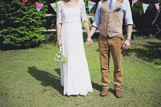 29 Rustic Garden Party Wedding By Candid & Frank Photography