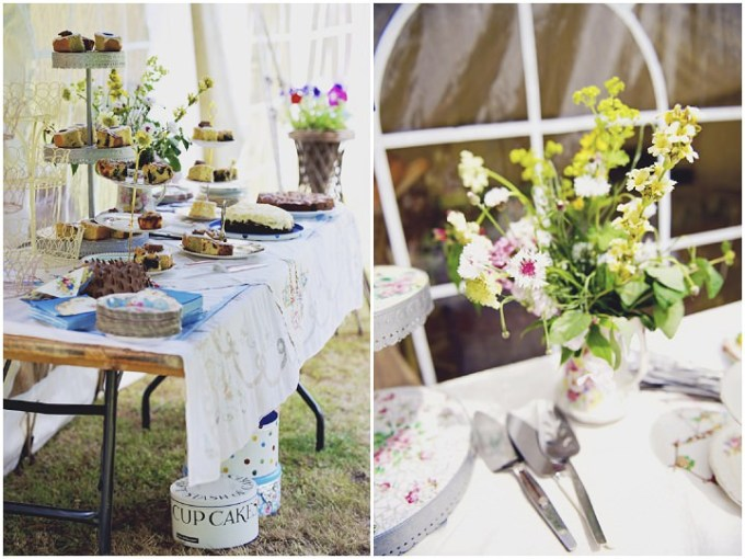 39 Rustic Garden Party Wedding By Candid & Frank Photography