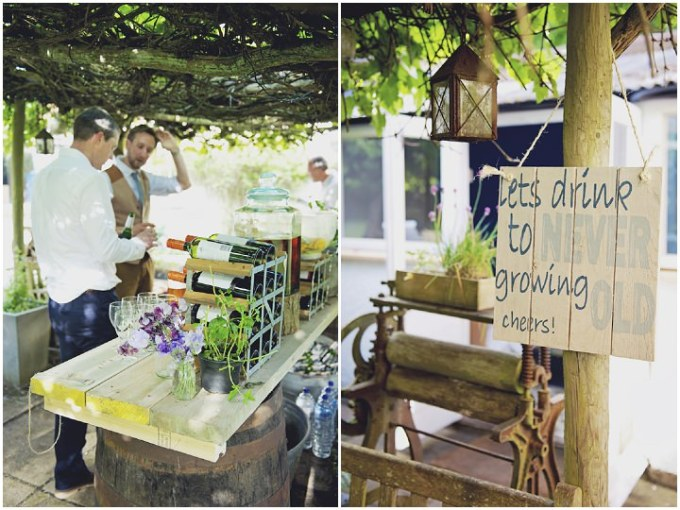43 Rustic Garden Party Wedding By Candid & Frank Photography