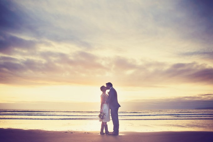 Sarah and Harry's Cornish Elopement By Amy Sampson Photography