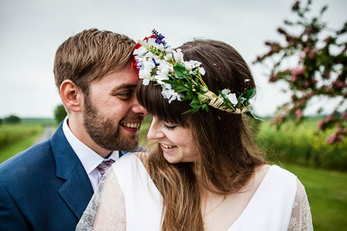 James and Victoria's Wild Flower Barmbyfield Barns Wedding by Jemma King Photography