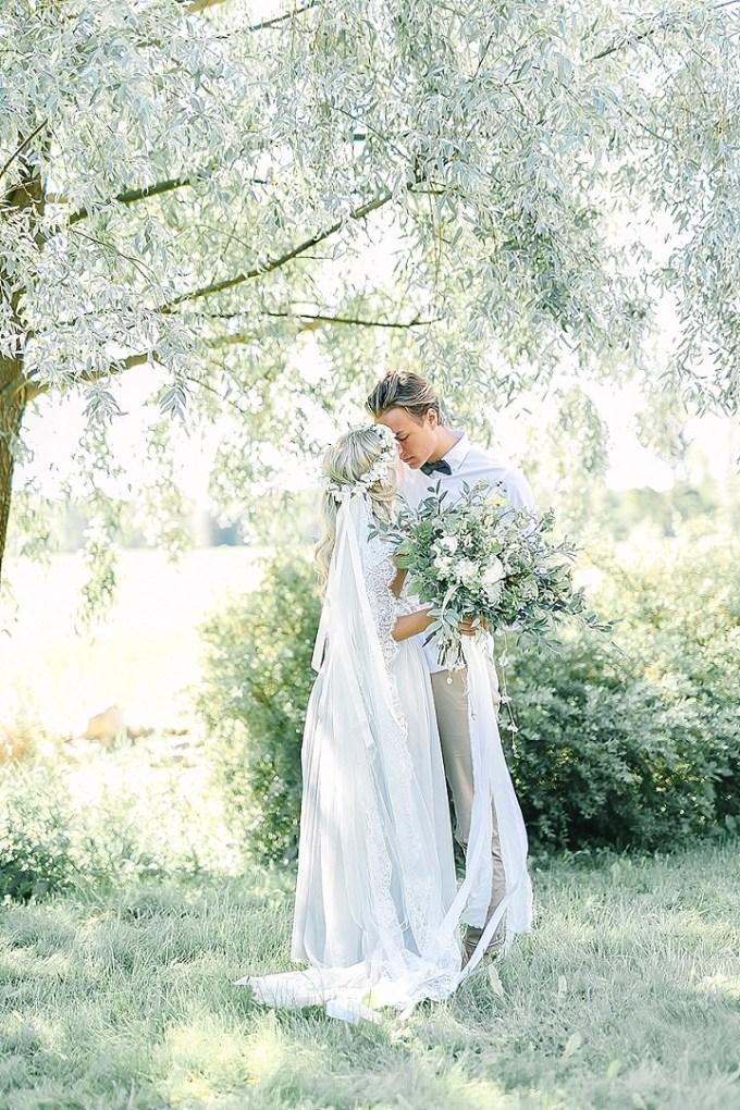 Swedish Garden Wedding Inspiration by Linda-Pauline