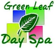 green leaf day spa logo