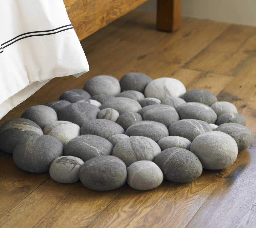 Felted stone mat boing boing for Stone mineral wool