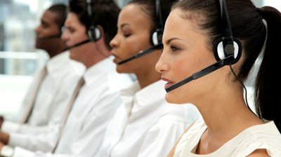 call center 4 personnes