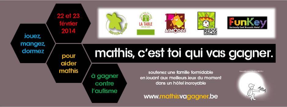 Mathis Va gagner - Bandeau