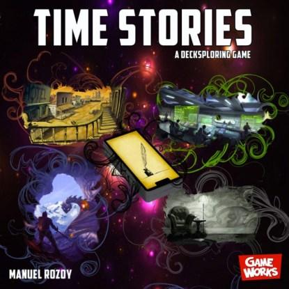 Time Stories, l'ancien visuel de boîte