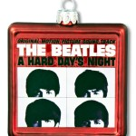 """4156     3.5″  GLASS """"MEET THE…"""" ALBUM COVER ORNAMENT!  SOLD OUT!"""