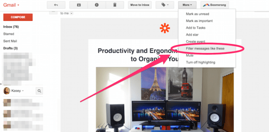 How to set up filters in Gmail and keep your inbox organized
