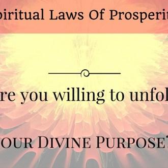 4 spiritual laws of prosperity living the abundant life