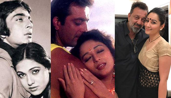 Sanjay Dutt And His Love Affairs Sanjay Dutt And The Women In His Life  From Tina Munim  Madhuri Dixit To