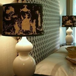 Lamp Shade Make Over