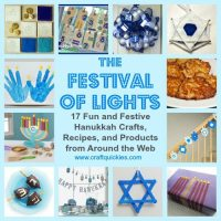The Festival of Lights: 17 Fun and Festive Hanukkah Crafts, Recipes, and Products