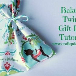 Baker's Twine Gift Bag Tutorial