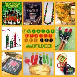 Kwanzaa Crafts & Fun Roundup