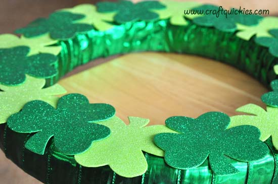 Lucky Clover Wreath 5