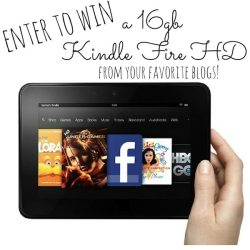 Win a 16gb Kindle Fire HD!