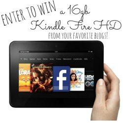 Win a 16gb Kindle Fire HD!