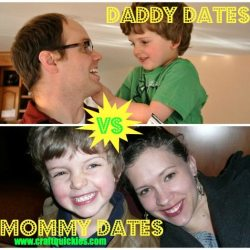 Daddy Dates vs. Mommy Dates